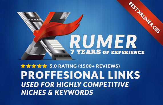 Create  Ping 5500 Publicly Viewable,Verified No Duplicated Domain Forum Profile Backlinks by Xrumer