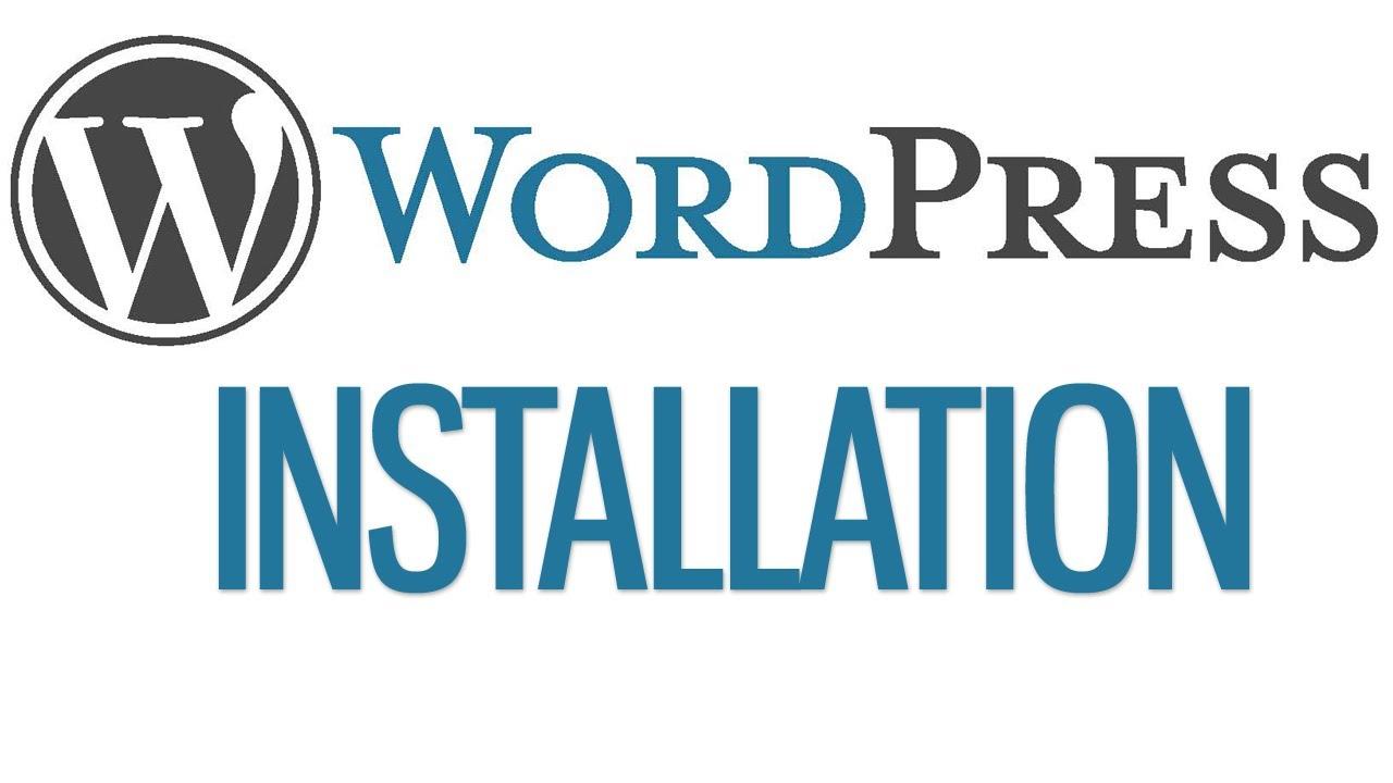 Install Wordpress and Wordpress theme for you