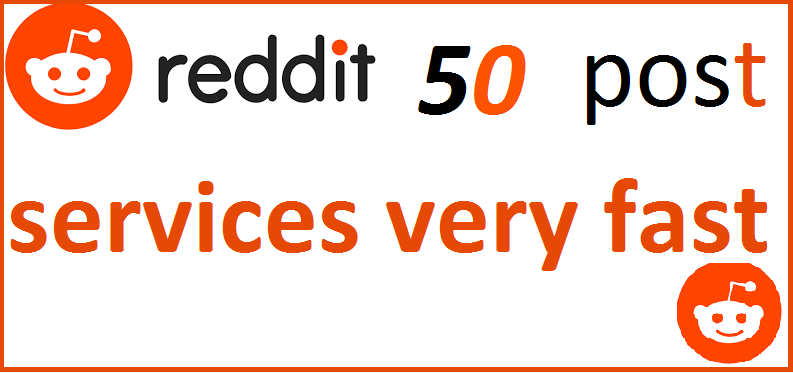 I Well Give Your Website Link In 50 Post On Reddit High