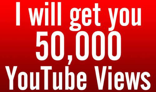50000 50k High Quality YouTube Vi ews Fully safe Super Instant