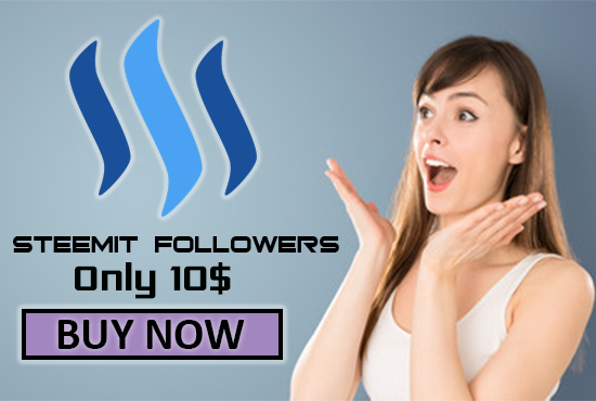 I will Give You 100 steemit followers