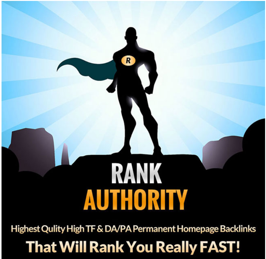Rank Authority 10 PBN Posts - High TF Homepage Links for 20