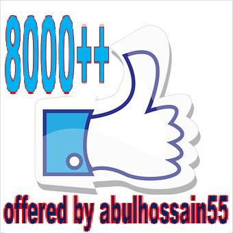 arrange 7500 Post likes or Video views Increasing offer for social media links