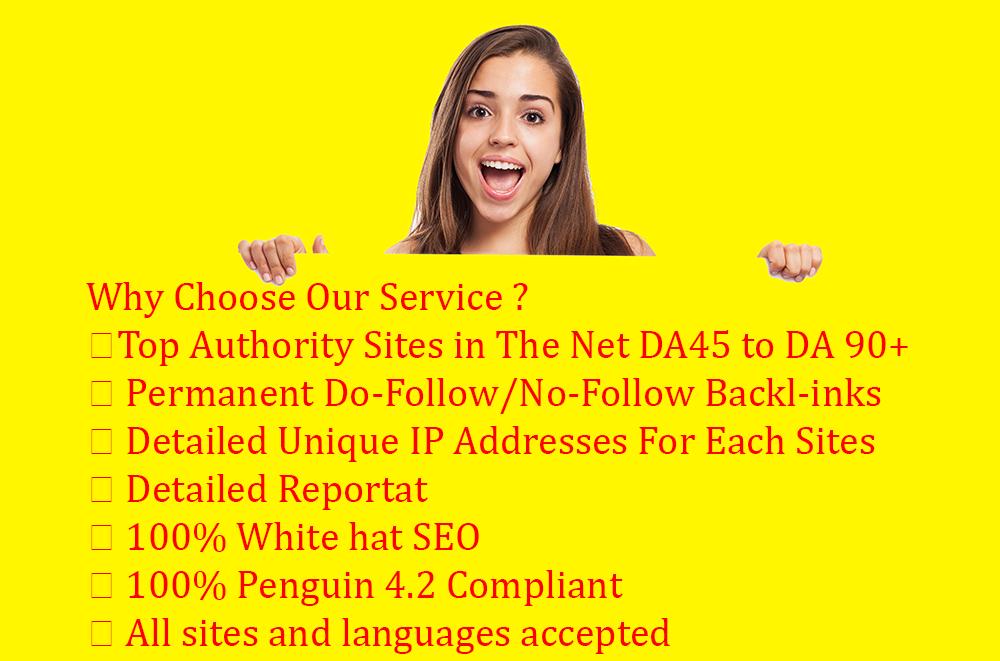 Do Niche Relevant Guest Post On Upto Da90 Tf60 Sites