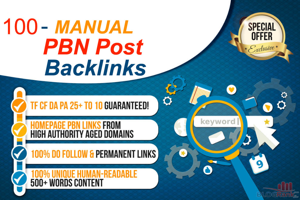 Create 100 Permanent Pbn Backlinks On High Trust Flow Domains