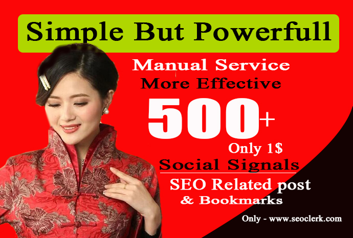 Do 500 Quality SEO Social Signals