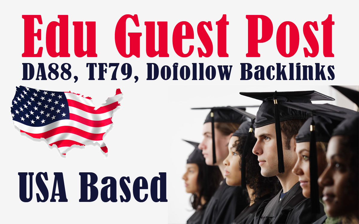 Guest Post on a Edu Blog, DA88, TF79! Ultimate Ranking Solution Ever