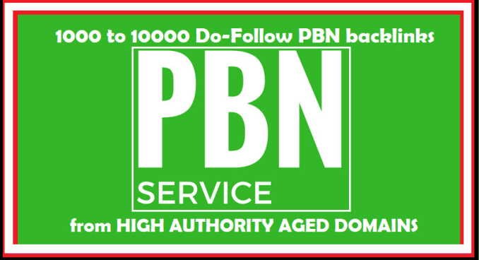 Create 1000 High Authority Dofollow Pbn Backlinks