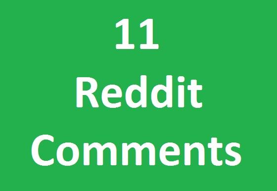 11 reddit custom comment cheap rate
