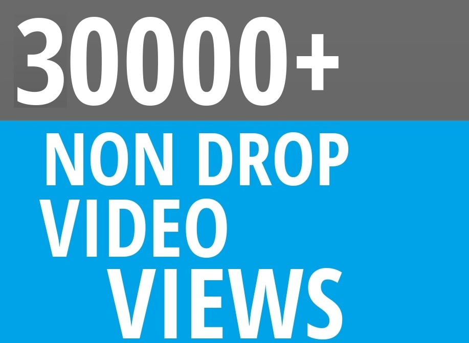 Add Fast 30000+ High Quality Social Video Views Fast and Stable Lifetime