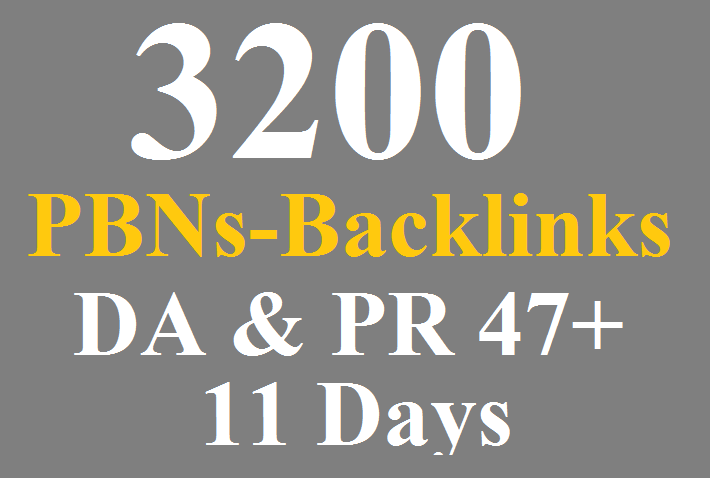 3200 WEB 2.0 PBNs Permanent Blogs Homepage Backlinks