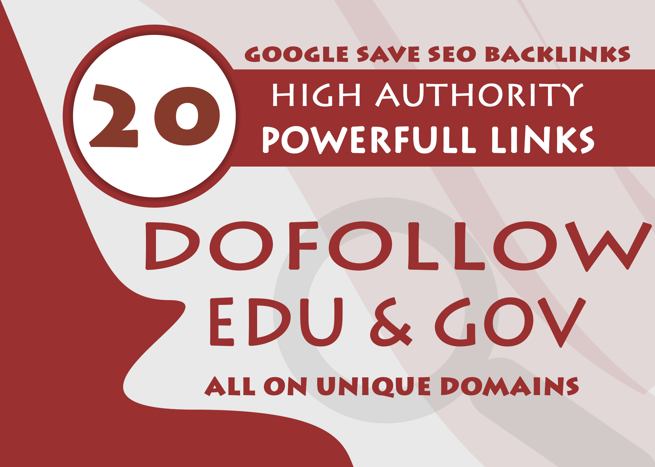 20 Edu And Gov Dofollow Backlinks On Unique High Authority Sites