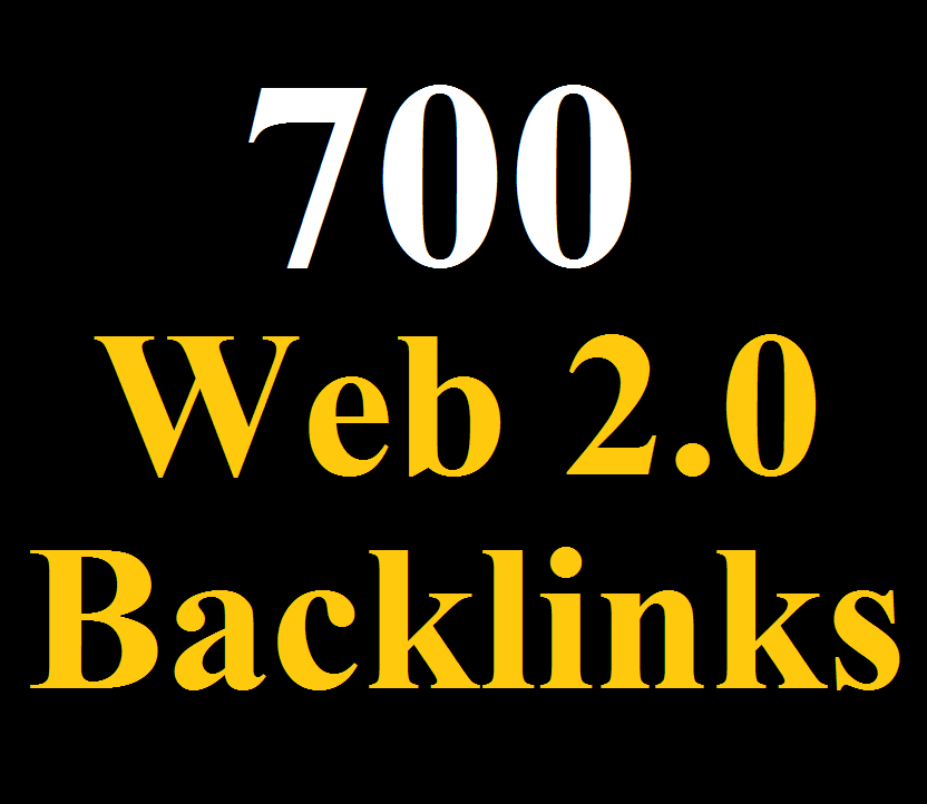 700 WEB 2.0 Blogs Backlinks DA 80 - Blast your ranking