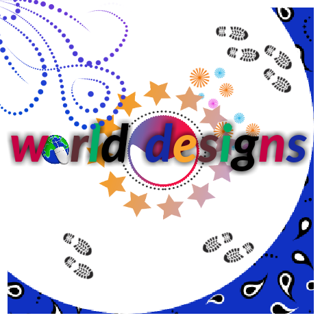 World of graphic designers and photo editors