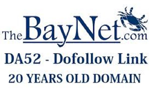 Publish Guest post on Thebaynet DA52 dof0llow backlink