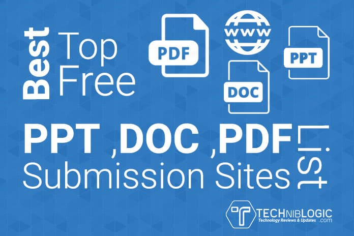 do manually PDF submission to 50 document sharing sites
