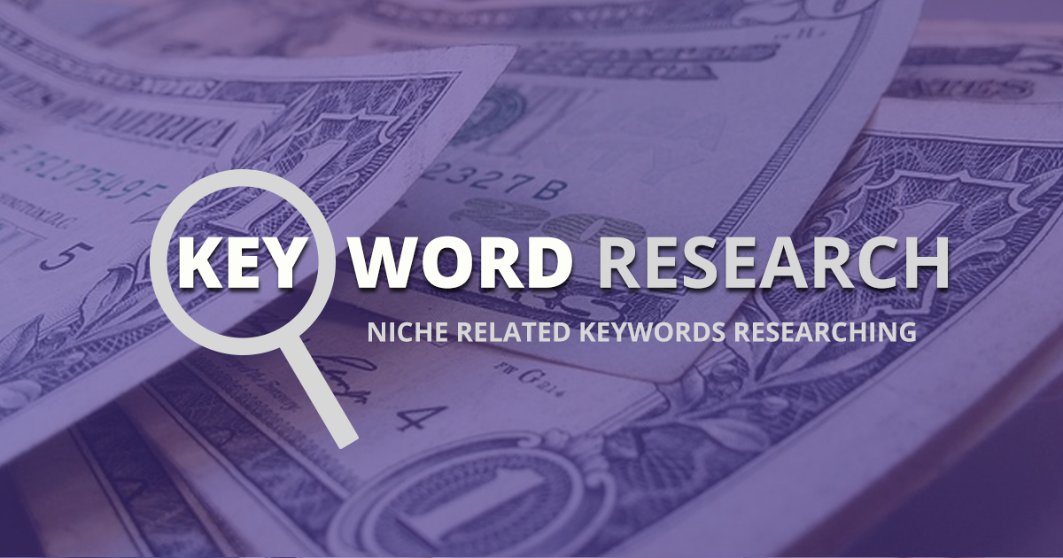 Create WordPress Niche website with Research Keywords