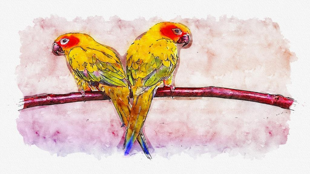 convert image to watercolor paint