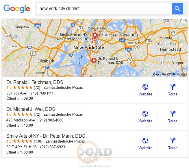 create gmb page and rank your local business organically within an affordable price