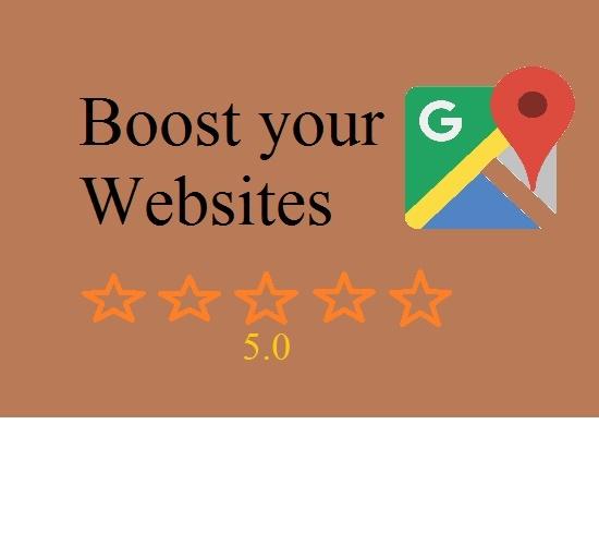 Boost your websites on local/google maps via customer feedback