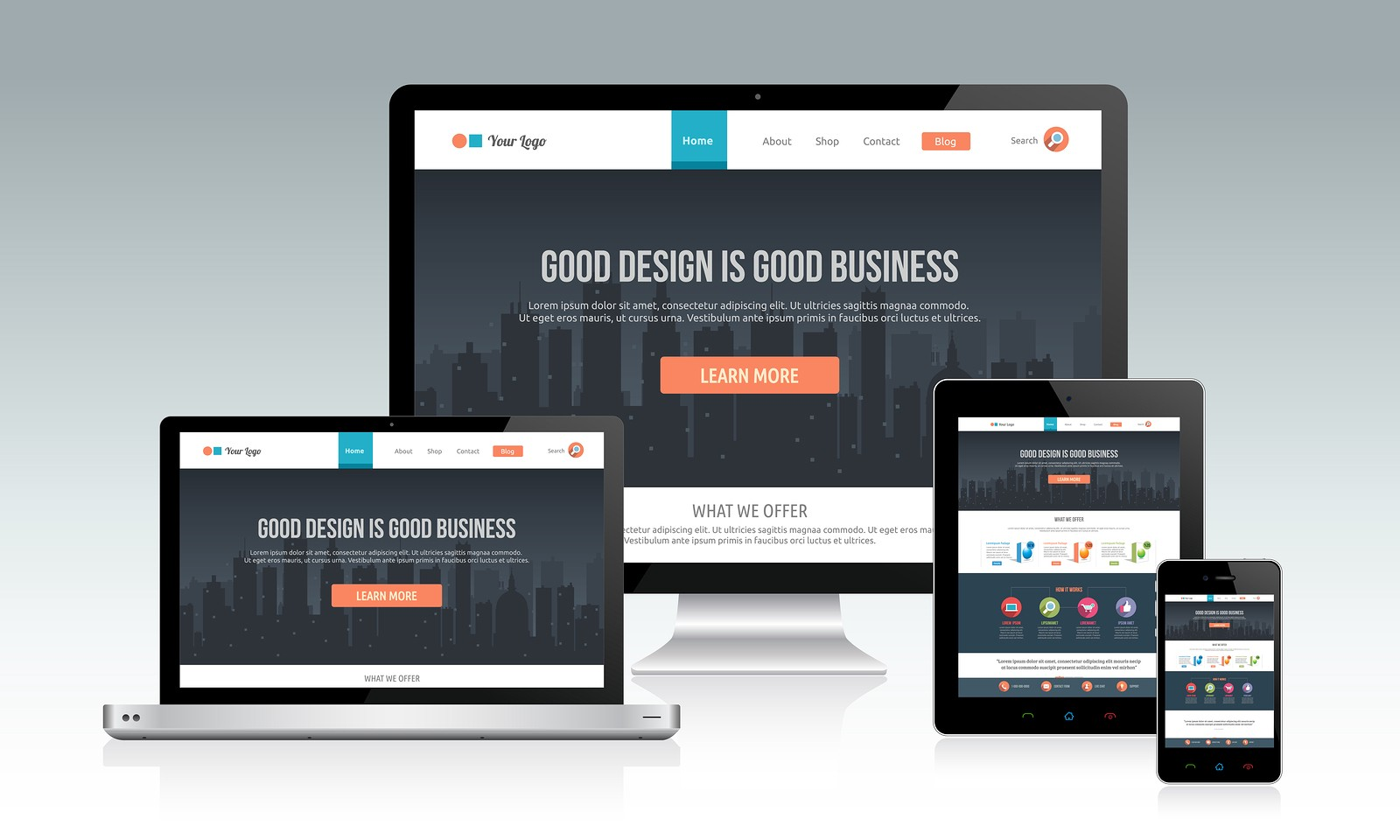 Will Design Responsive Wordpress website