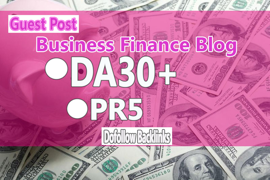 Do Guest Post In PR5 HQ Finance Blog