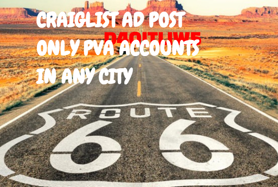 Craiglist ad posting in any City