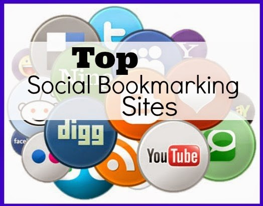 Manually 5 Big Social Bookmarking Sites PR5,  PR6,  PR7 - With social bookmarking report for 1