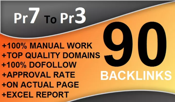 I Can Create 90 Dofollow Backlinks Blog Comments On Actual Page Pr7 To Pr3