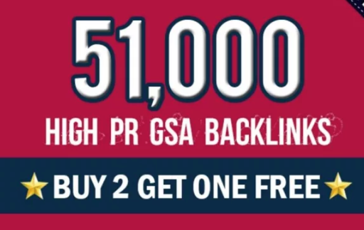 I Can Create 51,000 High Pr GSA Backlinks For 1st Google Ranking