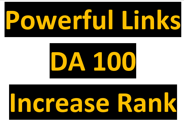 10 Backlinks on DA 100 Companies Sites
