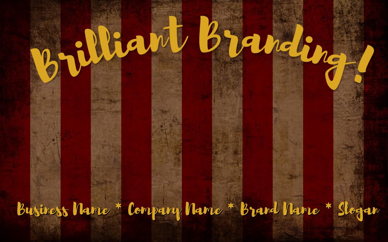 Full Service Branding for Businesses!