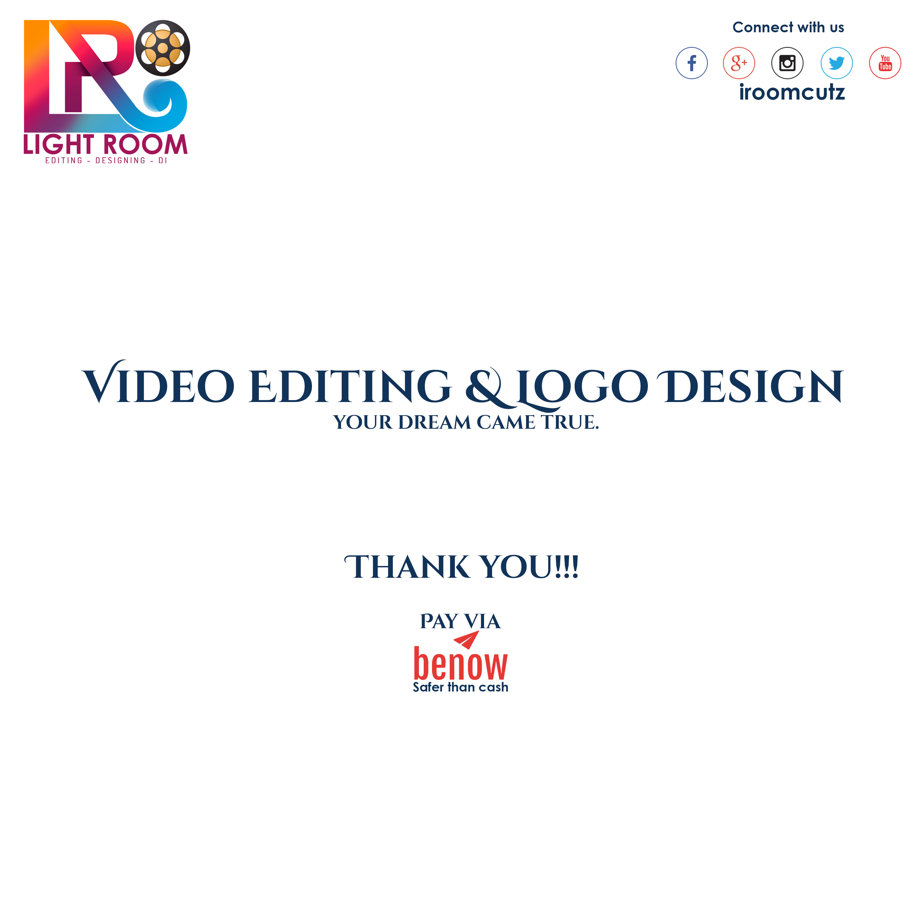 Video Editing & Logo Designing