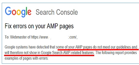 fix all errors of your amp pages and make all pages validated in google search console