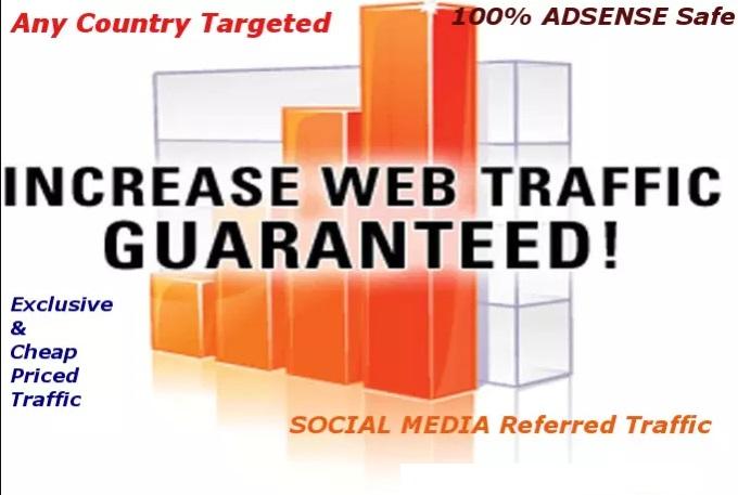 10000+ Adsense Safe And Genuine Visitors