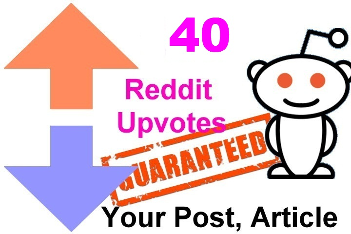40 reddit upvotes to your reddit post or links or articles within 3 Hours