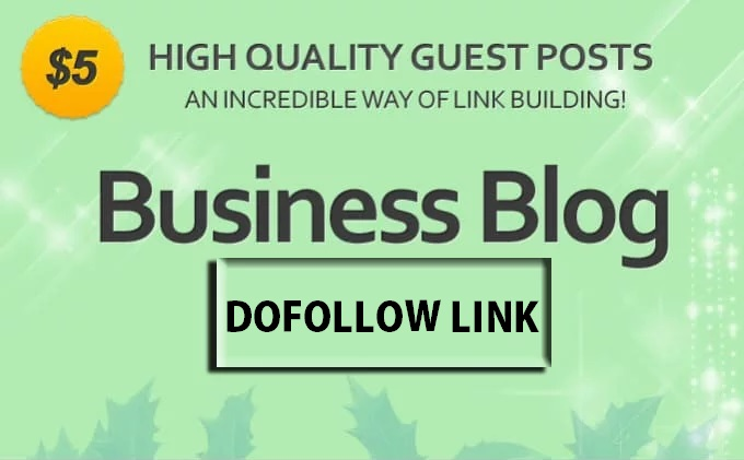 Give You Guest Post On Business And Finance Niche Blog