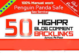 Backlink with Amazon and 50 Unique high ranking Domains Manual Blog Comments backlinks