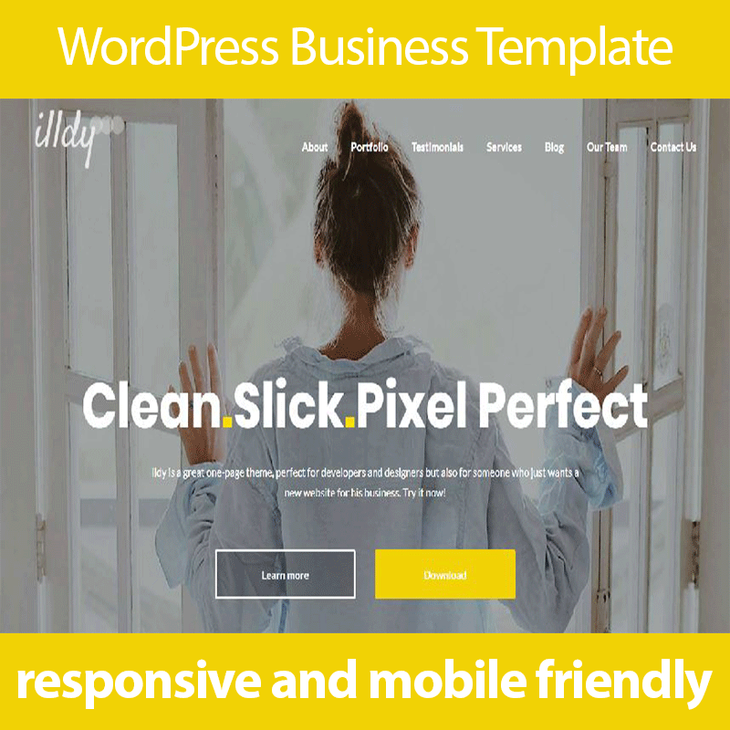 WordPress Themes Premium WordPress Templates for business website