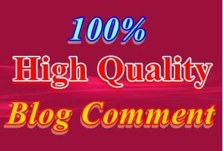 Create manually Do-Follow 30 Blog comments & backlinks
