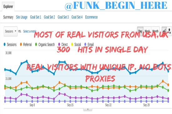 we will send real Rich Country visitors on your website 9 days 100 work pack