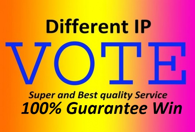Provide 200 different IP votes in your contest