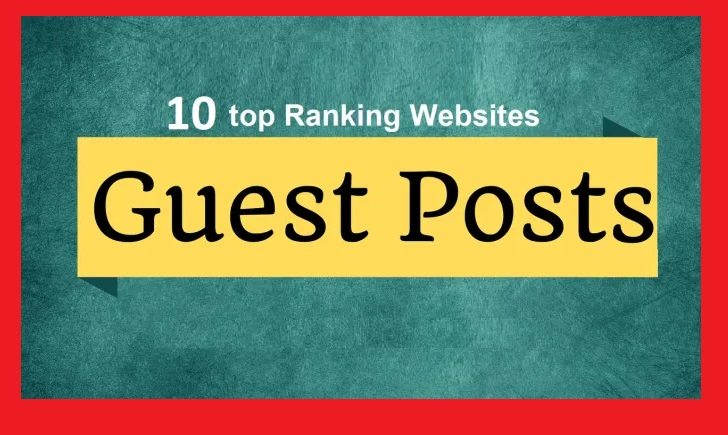 Write and Publish 10 Guest Posts on Powerfull DA-PA 70 to 95