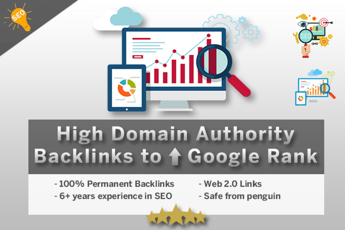 Create 25 High Domain Authority Backlinks To Improve ...