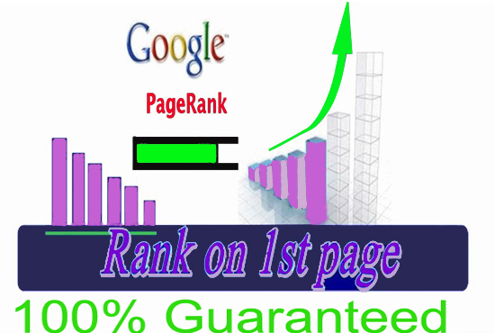 GOOGLE 1st page ranking with 100 guarantee