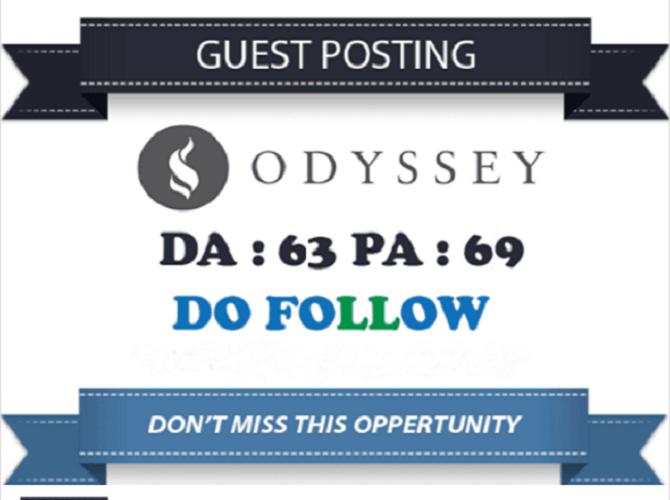 Write And Publish Guest Post On Theodysseyonline | DA63 PA68 | Traffic 2 Million+ | Dofollow