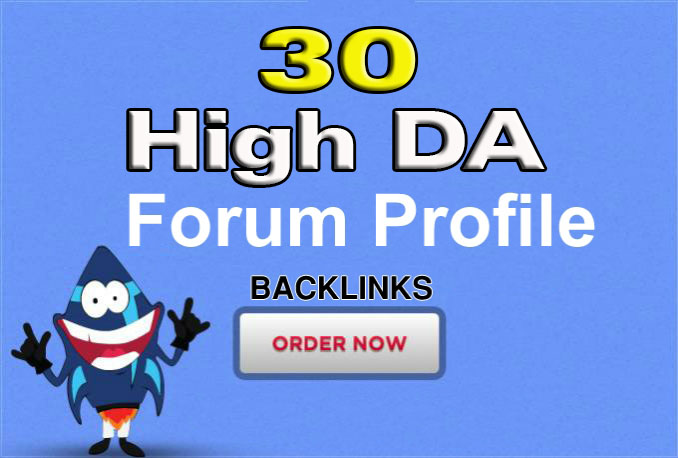 Do 30 Forum Profile Post Links Backlinks