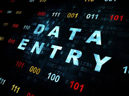 Data entry (Virtual assistant)