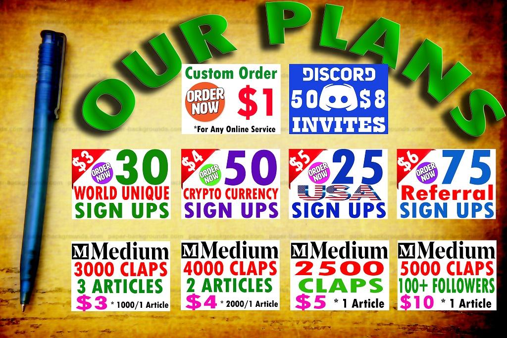 Buy 50 Discord Invites