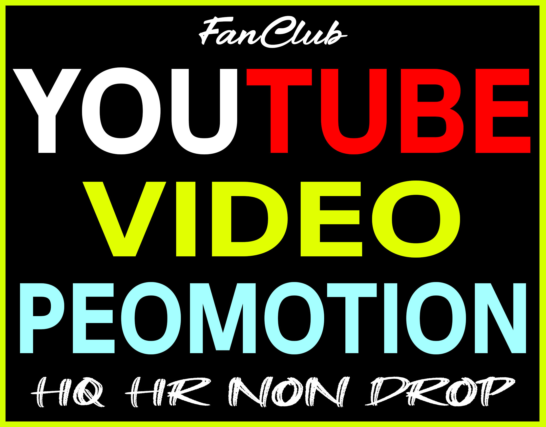 YouTube Video HQ Promotion + Marketing Good For Ranking